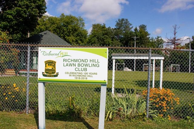 Richmond Hill Lawn Bowling Club