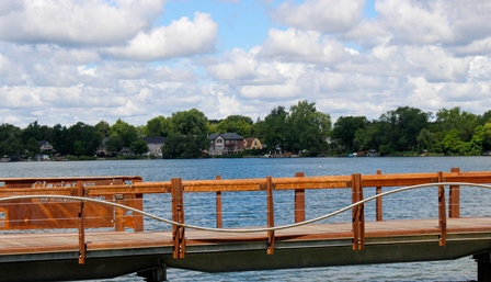 Boardwalk Lake Wilcox Park