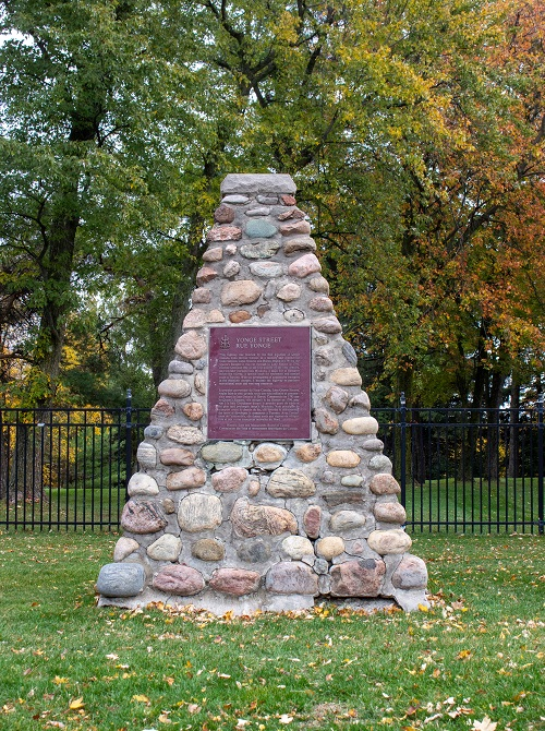 Let's Explore Richmond Hill - Yonge Street Cairn