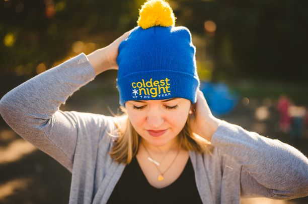 Coldest Night of the Year toque