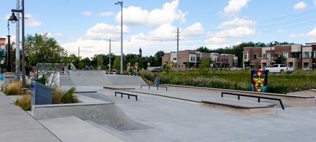 Skateboard Park Lake Wilcox Park