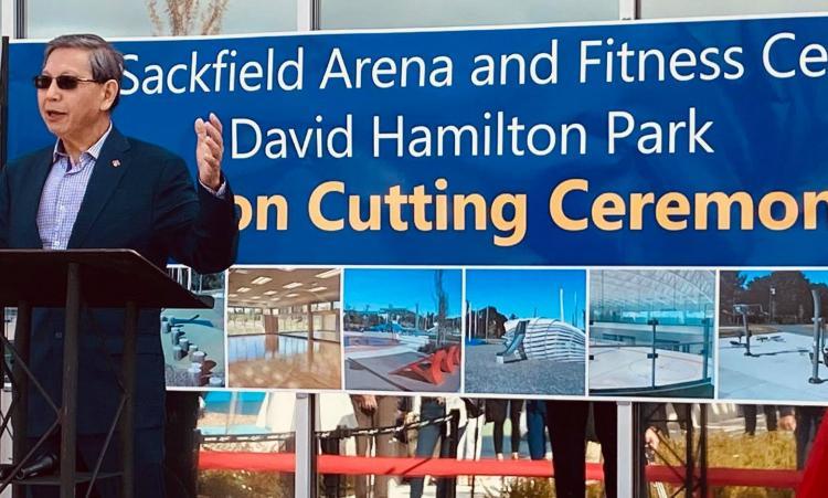 Godwin Chan September 11, 2020 Ed Sackfield Arena re-opening