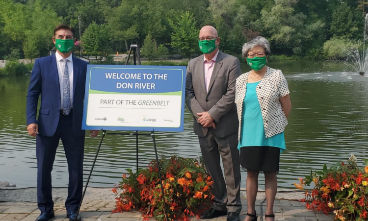 Mill Pond Park becoming part of the Greenbelt July 20, 2021