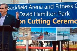 Godwin Chan September 11, 2020 Ed Sackfield Arena re-opening